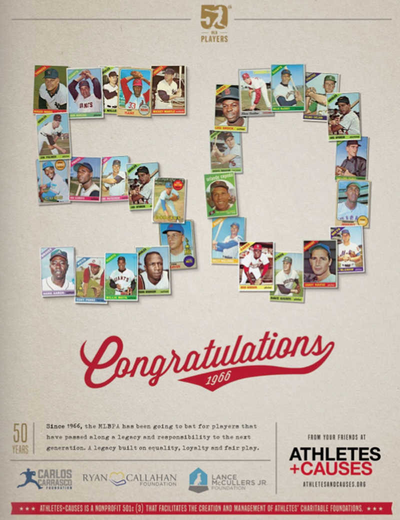 Athletes and Causes