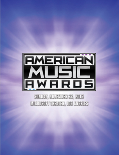 American Music Awards 2015 Book