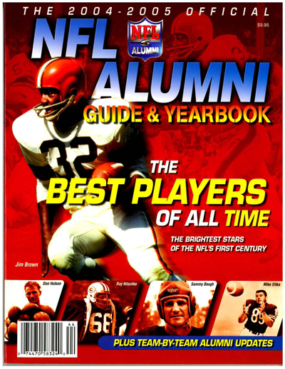 NFL Alumni 2004-2005 Official Guide