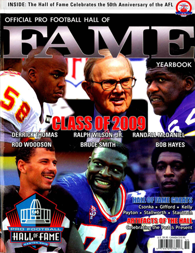 Pro Football Hall of Fame 2009 Yearbook